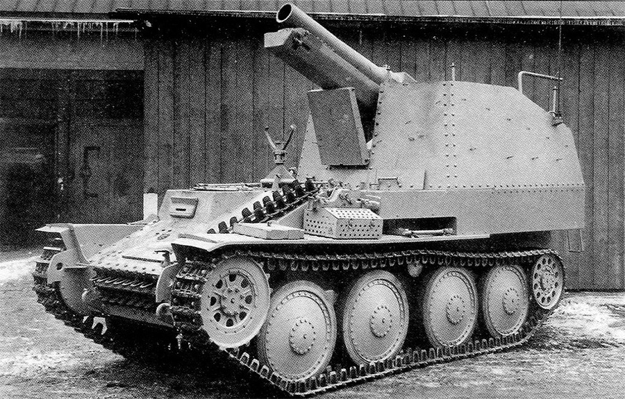 Sd.Kfz. 138/1 «Grille» aust M последних выпусков