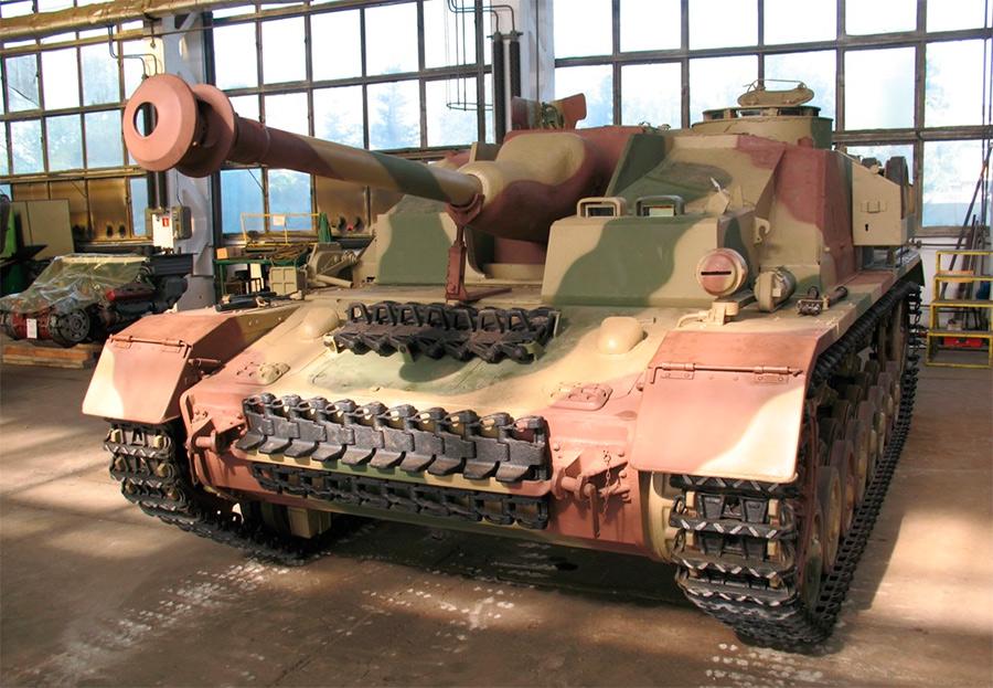 Самоходное штурмовое орудие StuG IV