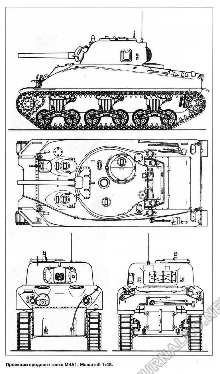 Средний танк M4A1 'Шерман'