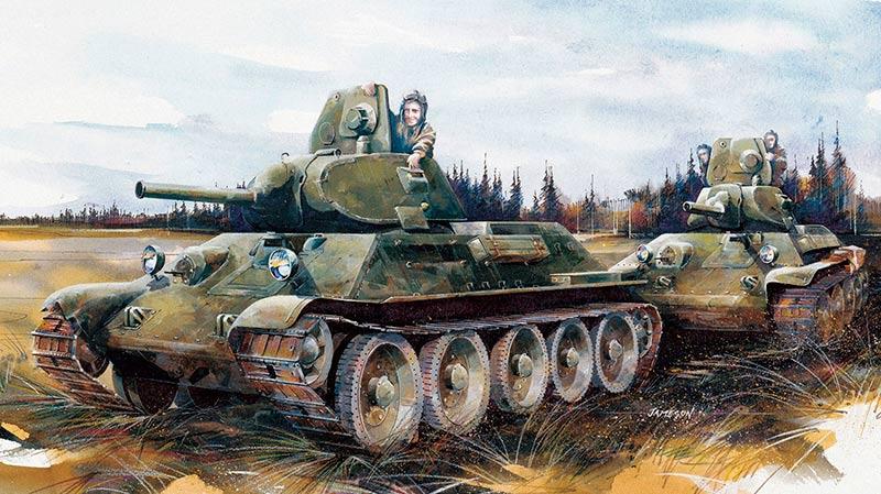 Снова Т-34 образца 1940 г.