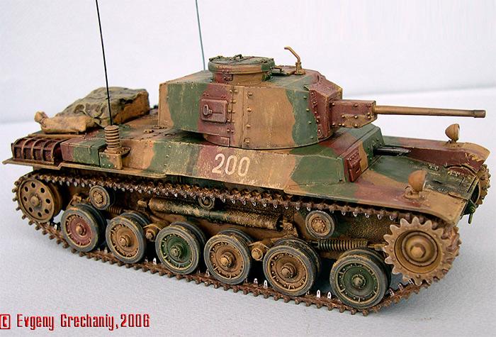 Средний танк Type 1 CHI-HE (Япония)