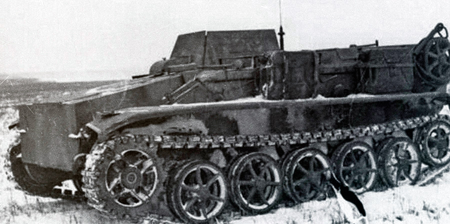 Телеуправляемая <a href='https://arsenal-info.ru/b/book/1335279114/8' target='_self'>танкетка</a> B-IV (Sd.Kfz.301)