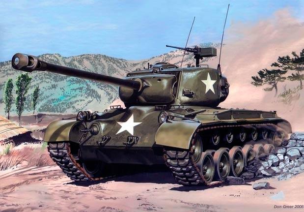 Тяжелый танк M26 «Першинг» («Pershing»)
