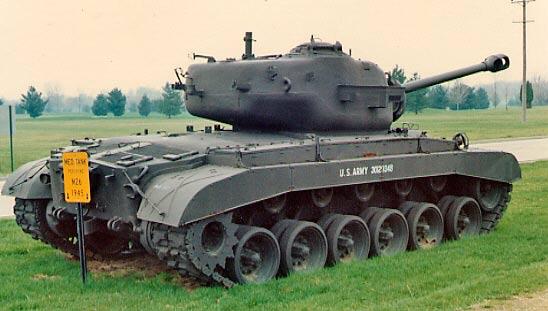 Тяжелый танк M26 «Першинг»