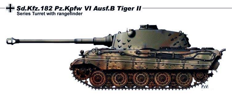 Pz VI 'Королевский тигр'