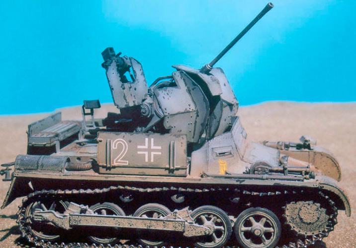 Зенитный танк «FlakPanzer»-I (модель)