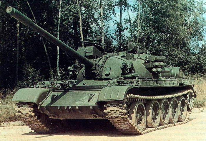 Средний танк Т-55