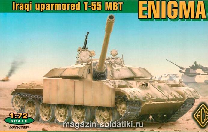 Иранская модификация среднего танка Т-55 'Энигма'
