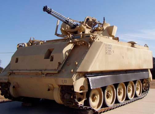 М163 «Вулкан» самая знаменитая модификация M113 и по иронии судьбы, одна из самых бесполезных