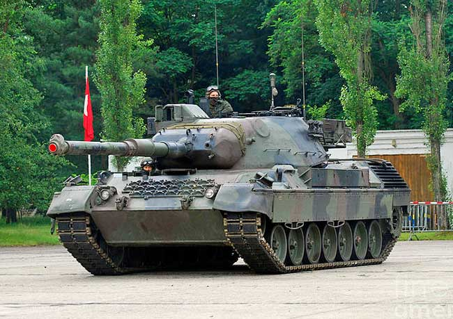 Немецкий танк Leopard I последней модификации A5