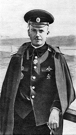 Петр Николаевич Нестеров. Автор 'мертвой петли' и воздушного тарана