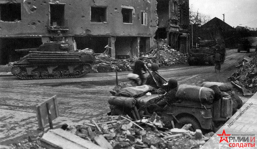 Войска США в Германии, 1945