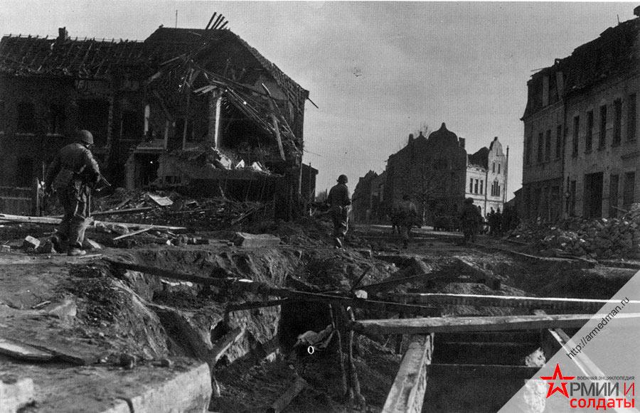 Американское наступление в Германии