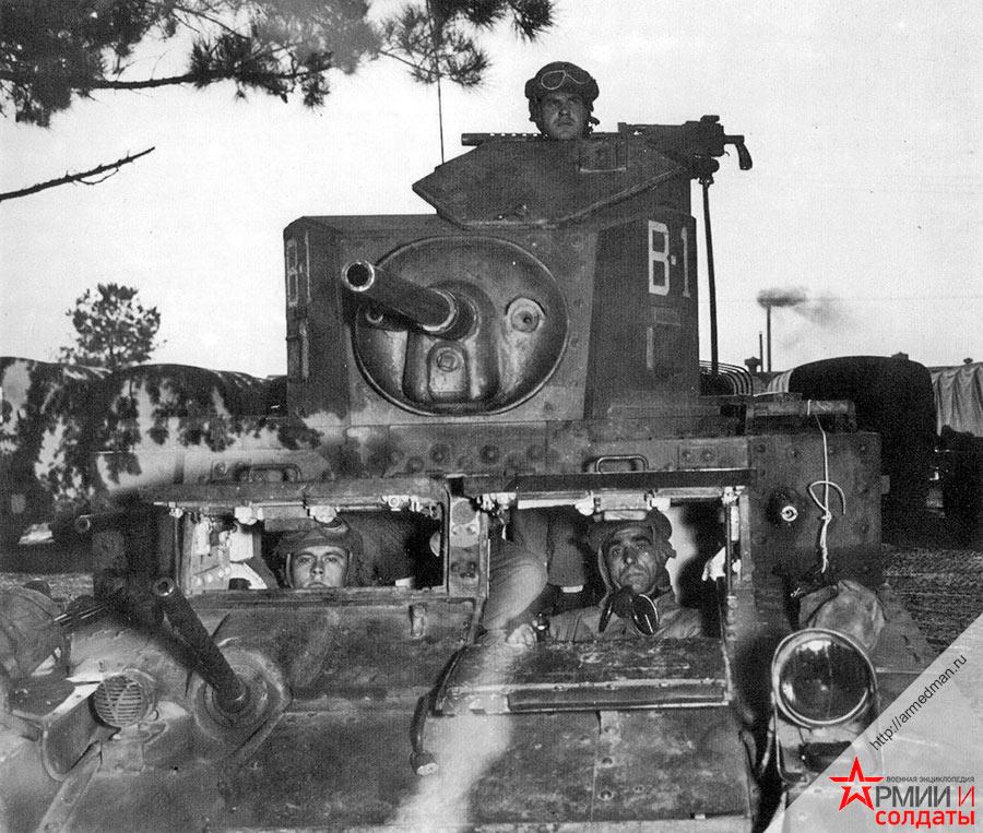 Американский легкий танк M3