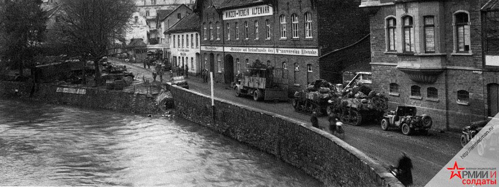 Американцы в Германии, 1945 г.