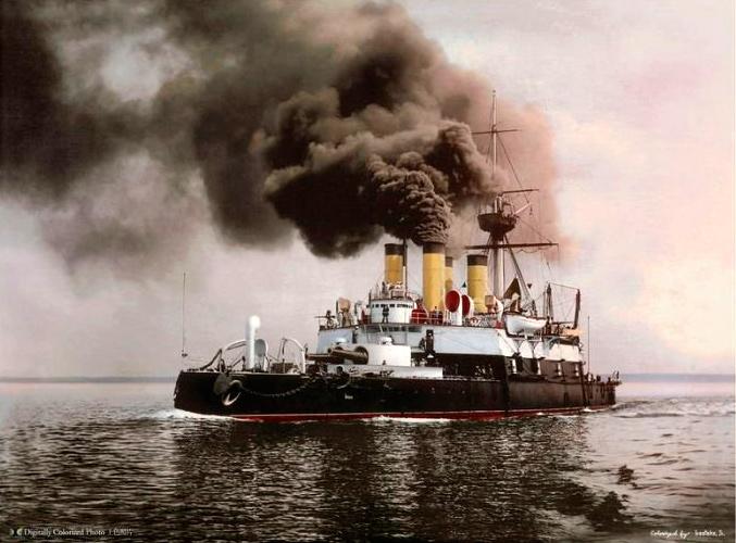 броненосец-Наварин,-1902