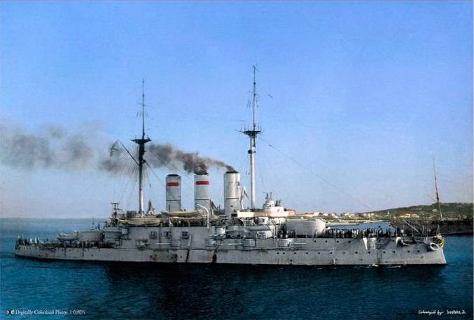 броненосец-Св.-Евстафий,-1910-г,-черное-море