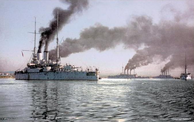 Черноморский-флот,-1910