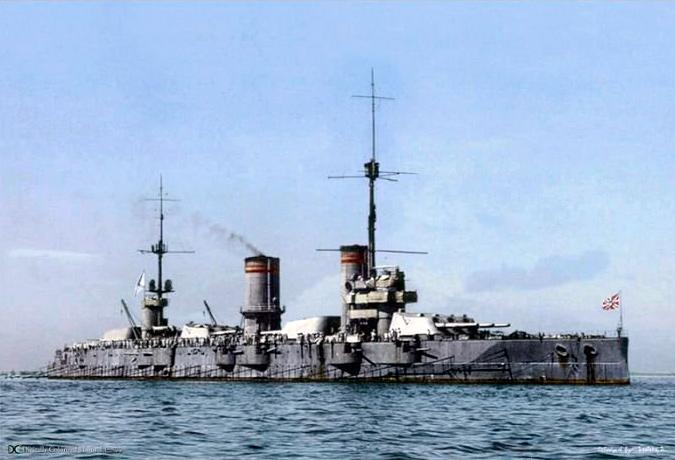 линкор-Гангут,-25.06.1915