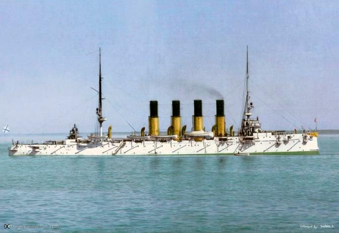 крейсер-Варяг,-1901
