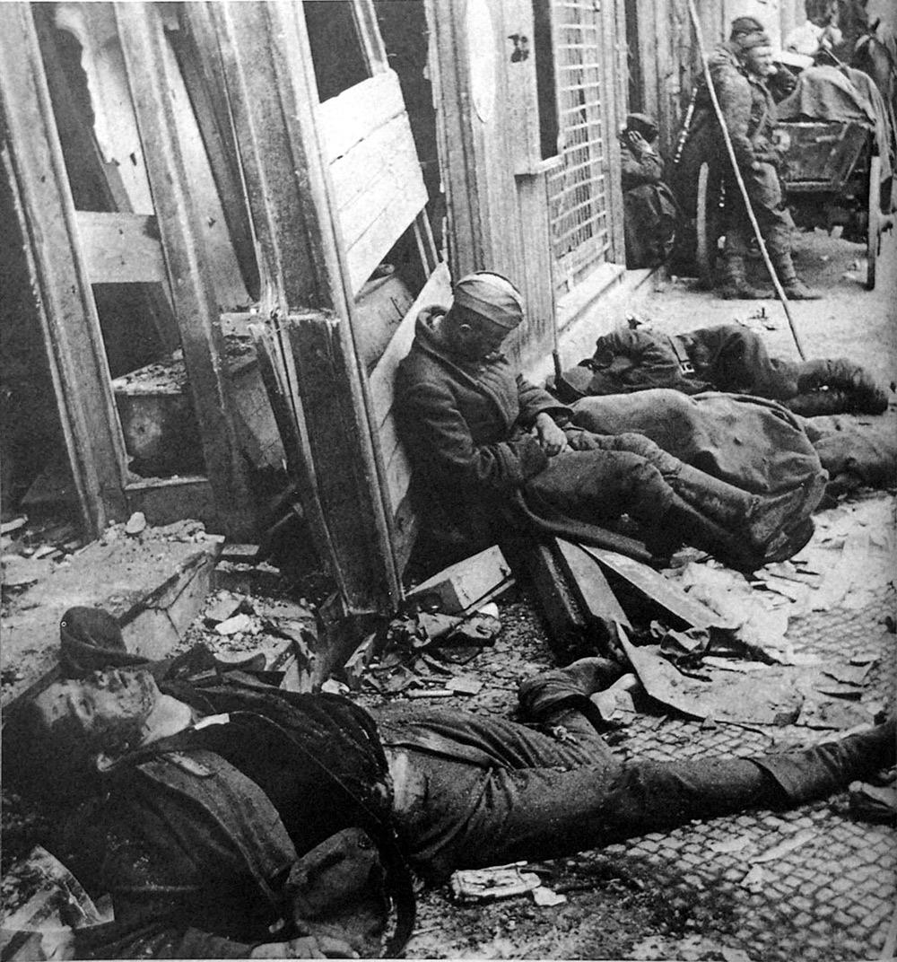 Спящий солдат, Берлин 1945