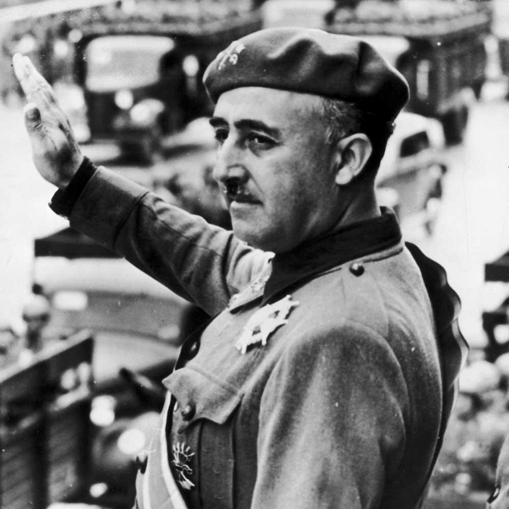 мятежный генерал Франциско Франко