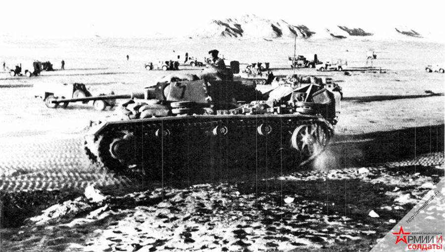 Pz-III-в-африканской-пустные