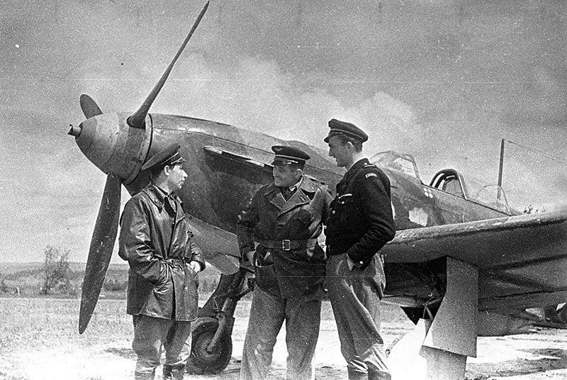 Французские летчики