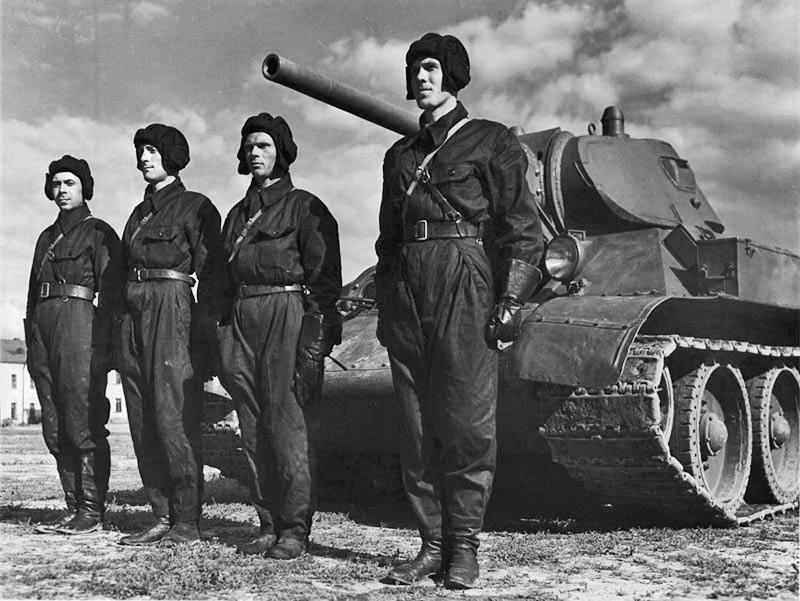 Экипаж танка Т-34-76