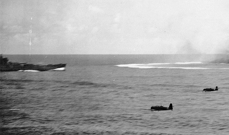 Атака торпедоносцев