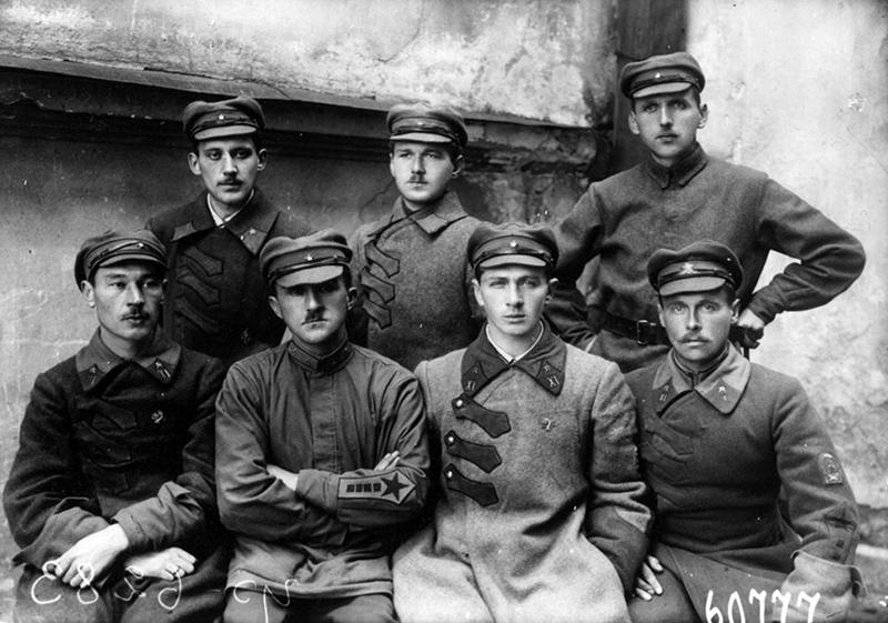 Молодые командиры РККА, 1923 г., Петроград