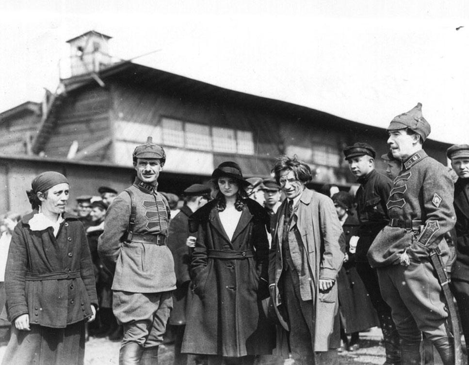 Офицеры Петроградского комендантского управления 1922