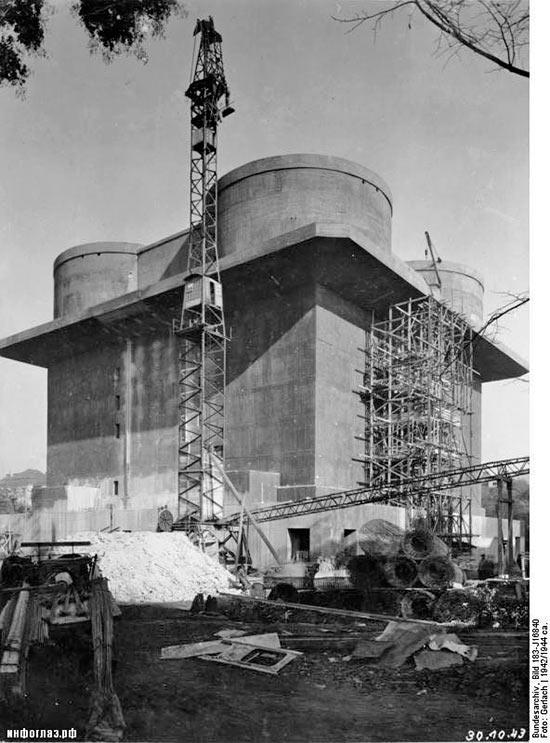 Строительство башни ПВО 'второго поколения'