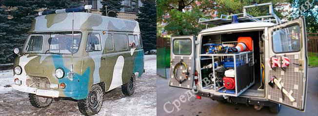 Разведывательно-спасательная машина РСМ-41-02
