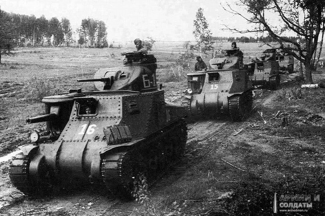 Танк 'генерал Ли', M3 - не лучший образец боевой техники, но когда нет другого...