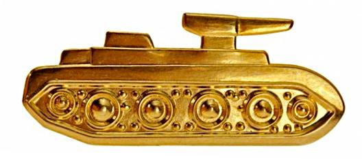 Эмблема <a href='https://arsenal-info.ru/b/book/3485638671/2' target='_self'>автобронетанковых войск</a> СССР в 1930-1940-х г.г.