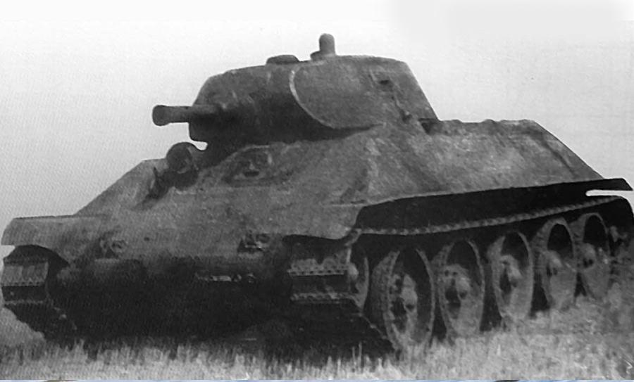Танк Т-34 первых выпусков? Нет, прототип нового среднего танка под обозначением А-32
