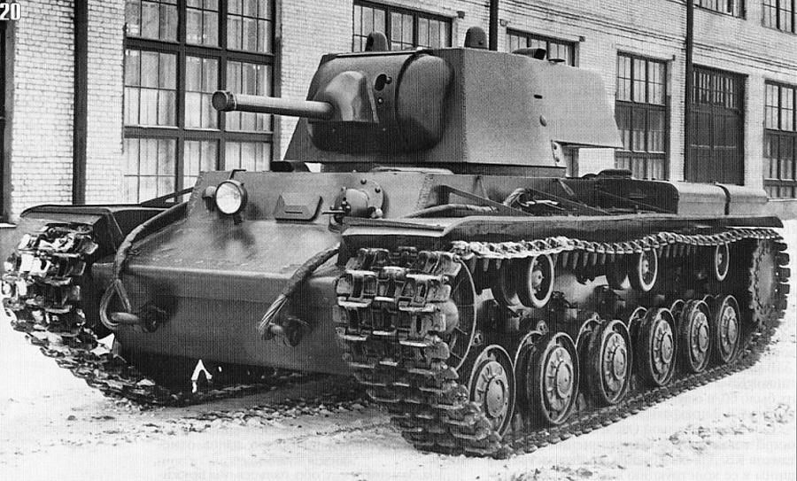 Климент Ворошилов - 1. Танк ничуть не менее знаменитый, чем Т-34