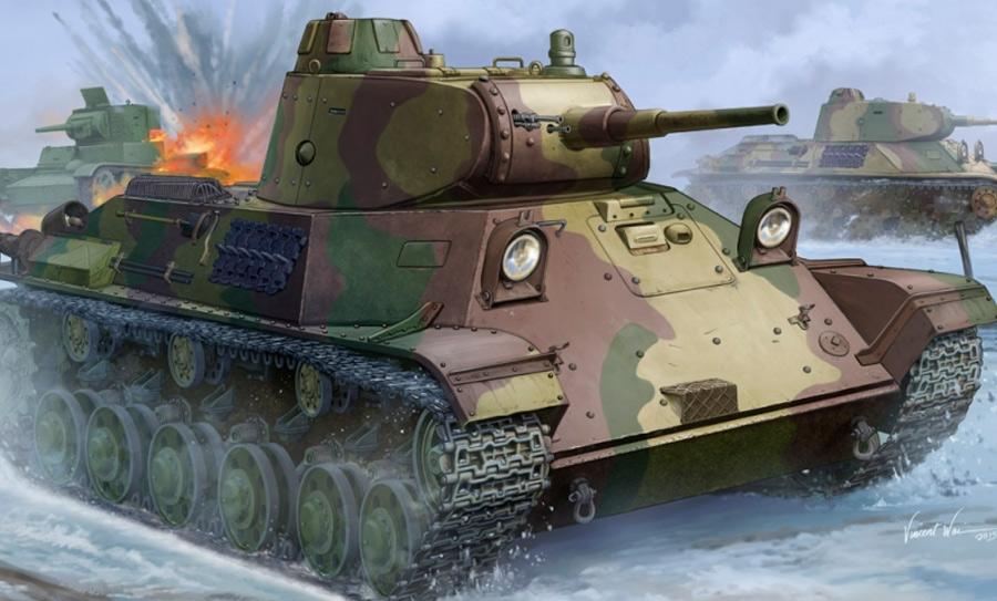 Легкий танк Т-50 - несостоявшаяся замена для Т-34