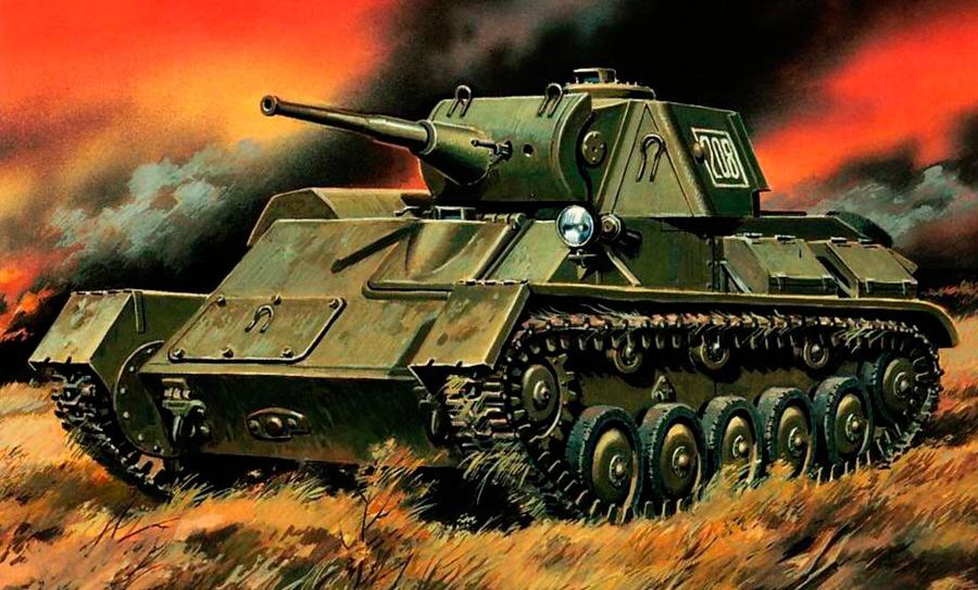 Т-70, также известный как ГАЗ-70 был оснащен спаренным автомобильным двигателем от гражданского грузовика