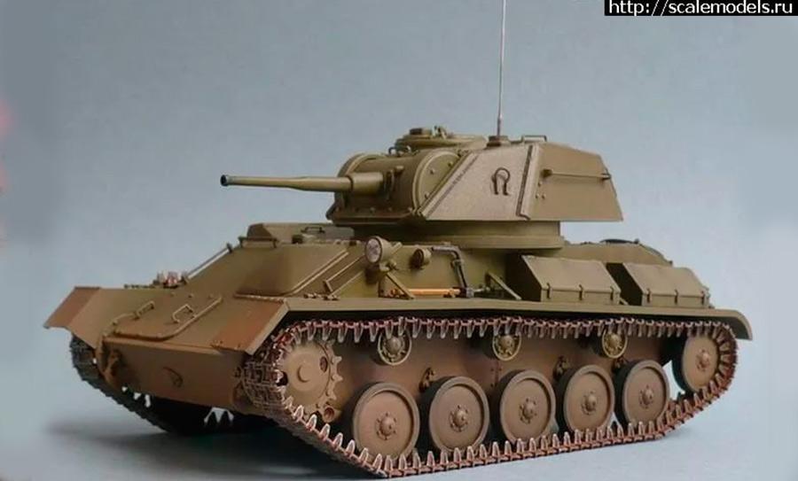Легкий танк Т-80 - последний легкий танк «старой школы»