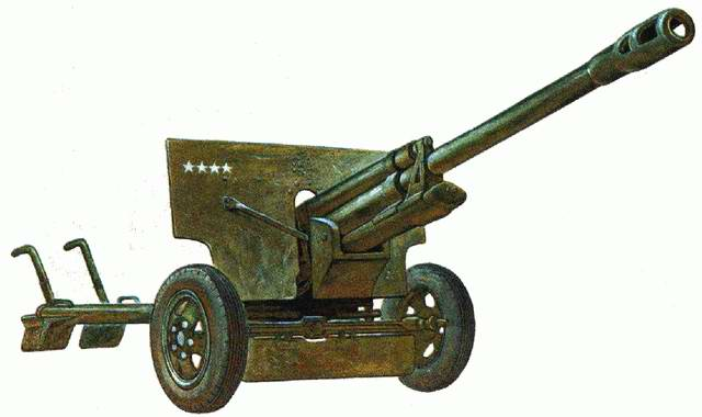 Дивизионная 76-мм пушка ЗИС-3