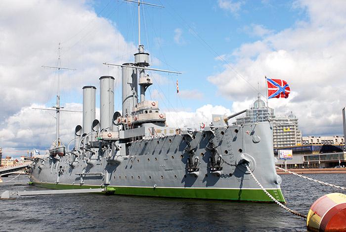 Крейсер Аврора - как мы привыкли его видеть