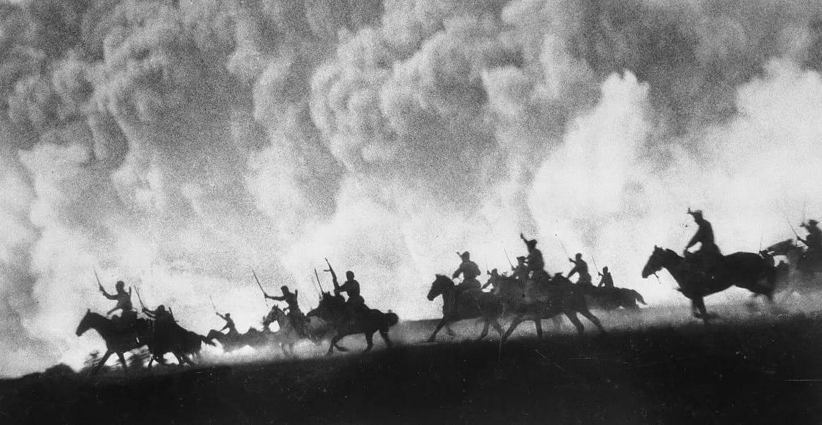 Кавалерийская атака Красной Армии, Великая Отечественная война