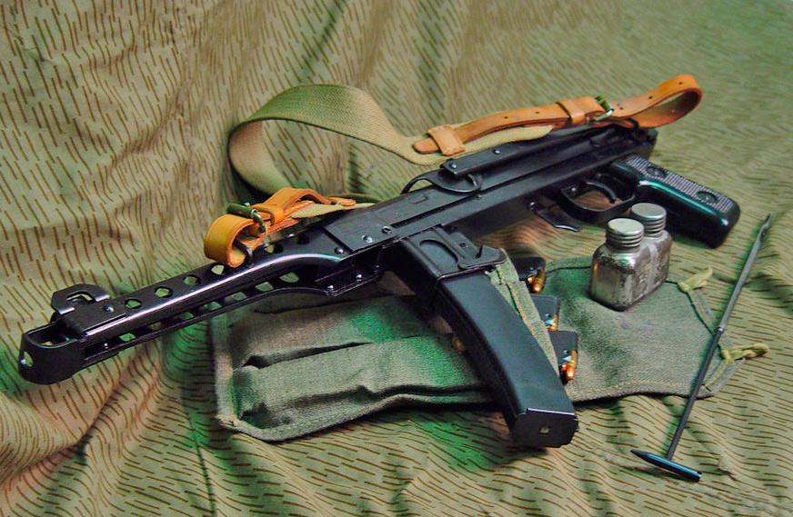 Советский пистолет-пулемет ППС-43