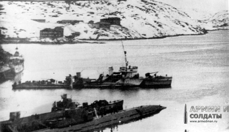 сторожевой корабль 'Гроза', 1942 г.