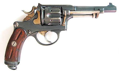 Швейцарский револьвер модели 1882 г. (Галан-Шмидт M1882)