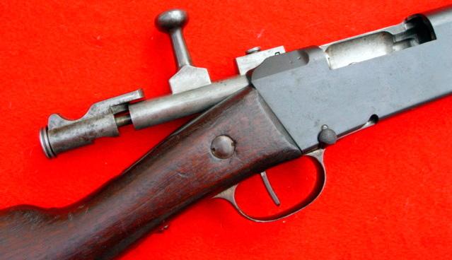 Затвор французской винтовки Лебеля образца 1886 года