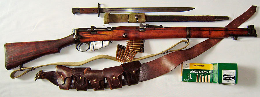 Британская винтовка «Ли-Энфилд»
