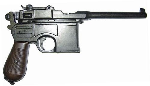 пистолет 'маузер' М.712